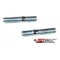 Exhaust Stud Bolt Set, 6mm (Set of 2), 4-Stroke, GY6 50cc, 125cc, 150cc