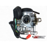 Carburetor 21mm CVK w/ Accelerator Pump GY6 80 100