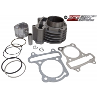 Big Bore Cylinder Kit, (125cc),  139QMB (52mm/13mm wrist pin), GY6 50 Conversion to 125cc