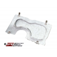 Crankcase Cover Plate, Left GY6-125/150cc, 4-stroke QMI152/157 and QMJ152/157 engines