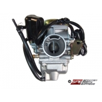 Carburetor w/ Electric Choke 19mm CV GY6 50 139QMB
