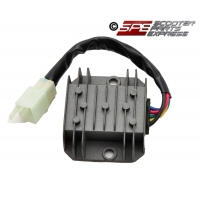 Regulator Rectifier Voltage Regulator 5 Wire Male GY6 150 157QMJ Scooter Moped ATV