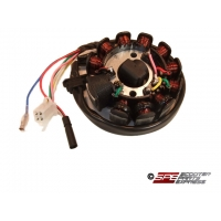 Stator Magneto Generator DC 11 Coil GY6 150 157QMJ Scooter Moped ATV