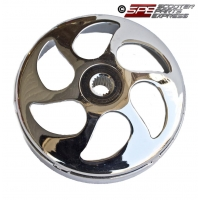 Clutch Bell Chrome Racing GY6 150 157QMJ Scooter Moped ATV