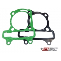 Gasket Set, GY6-155, Head and Base Gasket Set for the (59mm) Big Bore Cylinder Kit