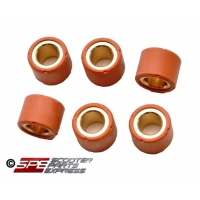 Variator Performance Roller Set, (6g), 15 x 12, 2 Stroke, 1PE40QMB, 1E40QMB, High Quality Copper Core