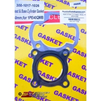Gasket Head & Base Set 40mm 49cc JOG Minarelli 2 Stroke 40QMB E40QMB 1E40QMB 1PE40QMB Scooter Moped ATV