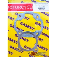 Gasket Head & Base Set 47.6mm 70cc JOG Minarelli 2 Stroke 40QMB 1PE40QMB 1E40QMB Scooter Moped ATV