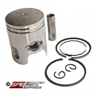 Piston & Ring Set 47mm 12mm Wrist Pin 80cc Big Bore JOG Minarelli 2 Stroke 1E40QMB 1PE40QMB Scooter Moped ATV