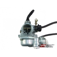Carburetor, (19mm), PZ19, Right Manual Choke, 4 Stroke Honda style Horizontal engine Dirt Pit Bike Quad ATV CT 50 to 110cc