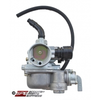 Carburetor, (17mm), PZ17, Right Manual Choke, 4 Stroke Honda style Horizontal engine Dirt Pit Bike Quad ATV