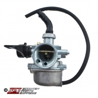Carburetor, (19mm), PZ19, Right Cable Choke, 4 Stroke Honda style Horizontal engine Dirt Pit Bike Quad ATV