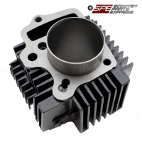Cylinder Block, 1P54FMI, 125cc, (54mm, 8mm bolt hole), for 4 Stroke Honda style Horizontal Dirt Pit Bike Quad ATV