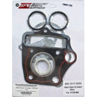 Gasket Head & Base Set 1P50FMG 100cc Honda style Horizontal 4 Stroke Dirt Pit Bike Quad ATV