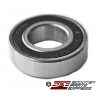 Bearing, 6003-2RS, 17mm x 35mm x 10mm, Double Rubber Shield, Sealed, Deep Groove Ball Bearing, Chrome Steel, Self-lubricating