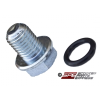 Oil Drain Plug M12 x 1.50 w/ BUNA Nitrile O-ring Seal GY6 Scooter Moped ATV
